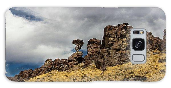 Balanced Rock Idaho Journey Landscape Photography By Kaylyn Franks Galaxy Case