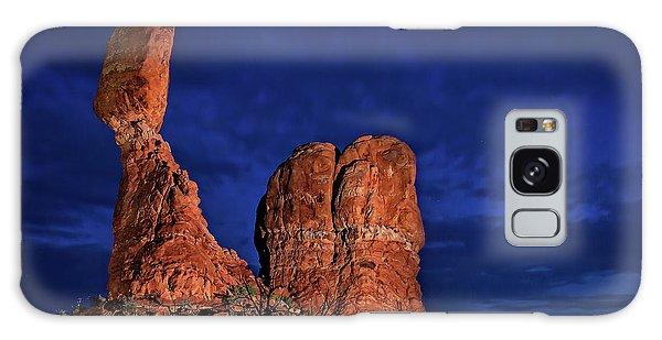 Balanced Rock Light Painted Galaxy Case
