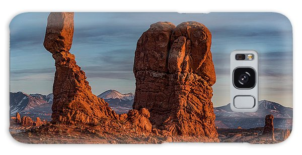 Balanced Rock Sunset Galaxy Case