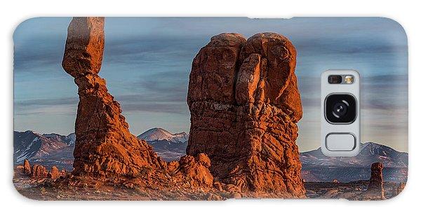 Balanced Rock Sunset Galaxy Case