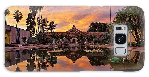 Balboa Park Botanical Building Sunset Galaxy Case
