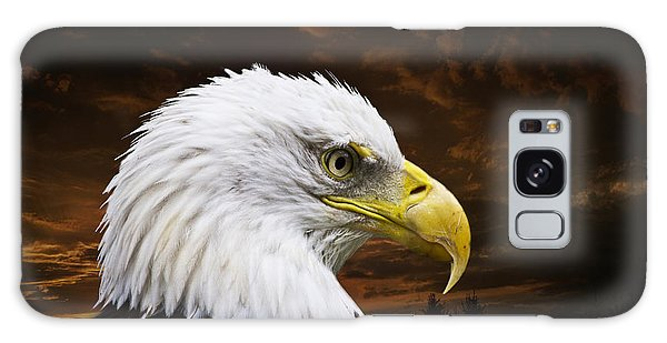 Bald Eagle - Freedom And Hope - Artist Cris Hayes Galaxy Case