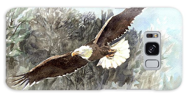 Bald Eagle Galaxy Case