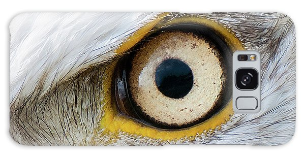 Bald Eagle Eye Galaxy Case