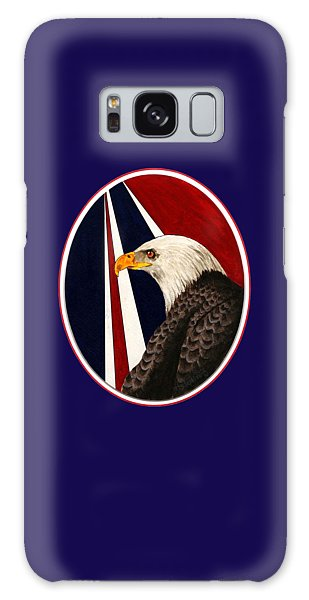 Bald Eagle T-shirt Galaxy Case