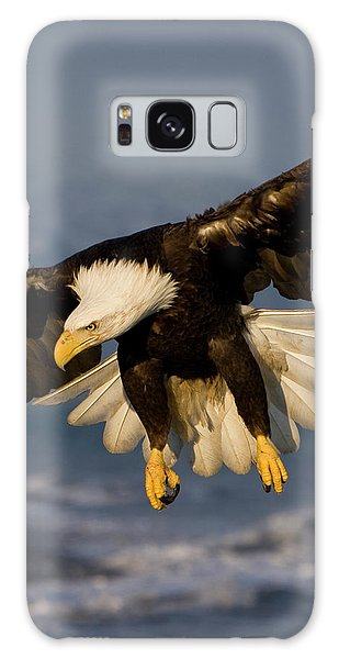Bald Eagle In Action Galaxy Case