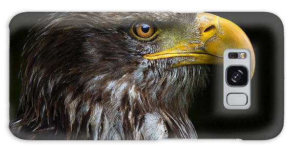 Bald Eagle Galaxy Case by Joerg Lingnau