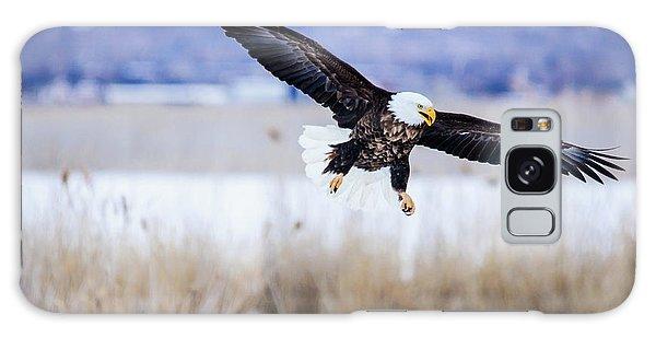 Bald Eagle Landing Galaxy Case