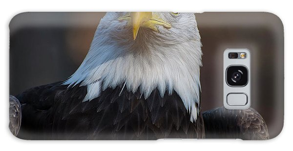 Bald Eagle Looking Right Galaxy Case