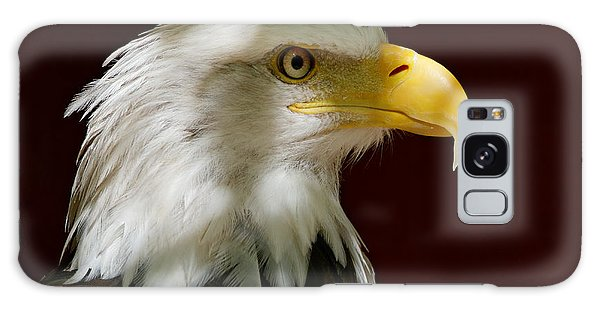 Bald Eagle - Majestic Portrait Galaxy Case