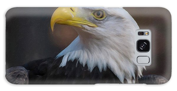 Bald Eagle Painting Galaxy Case by Chris Flees