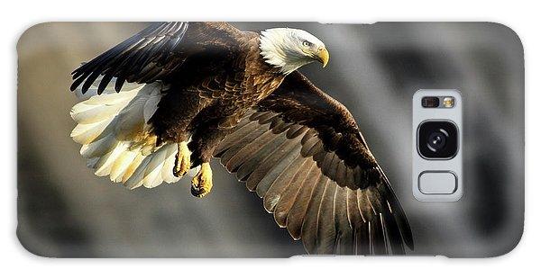 Bald Eagle Prepares To Dive Galaxy Case