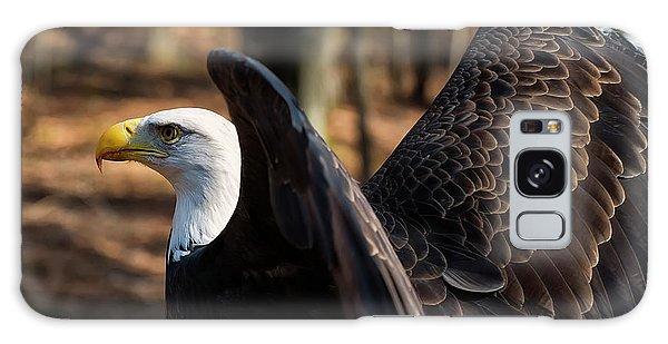 Bald Eagle Preparing For Flight Galaxy Case