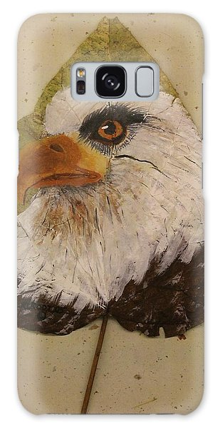 Bald Eagle Side Veiw Galaxy Case by Ralph Root