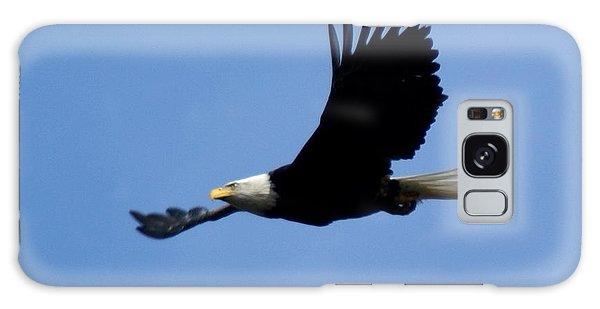 Bald Eagle Soaring High Galaxy Case