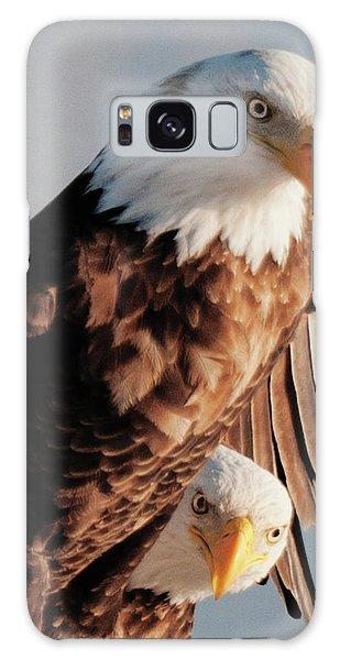 Bald Eagles Galaxy Case
