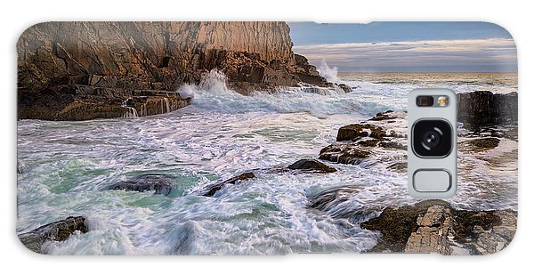 Bald Head Cliff Galaxy Case by Rick Berk