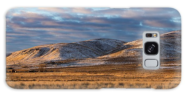 Bald Mountain At Dawn 2 Galaxy Case