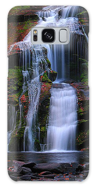 Bald River Falls Galaxy Case