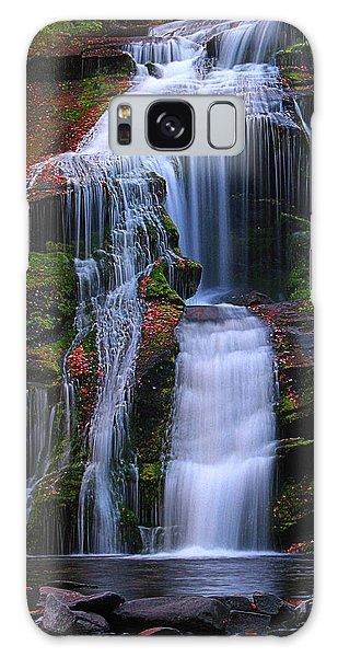 Galaxy Case - Bald River Falls by Elijah Knight