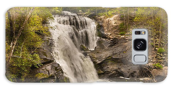 Bald River Falls Spring Galaxy Case by Rebecca Hiatt