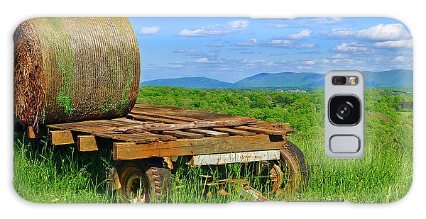 Bales At Rest Galaxy Case