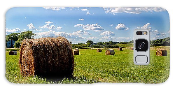 Bales Of Clouds Galaxy Case
