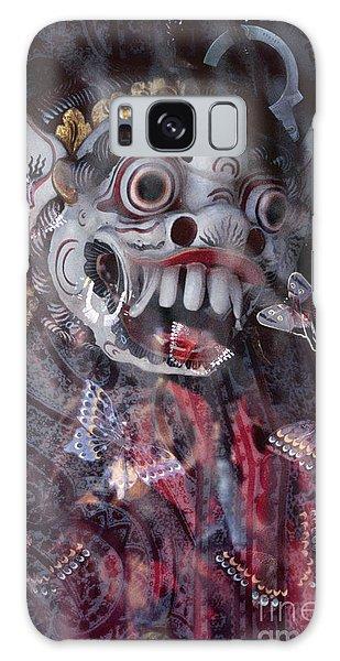Bali Dance Theater Mask - Barong I Galaxy Case