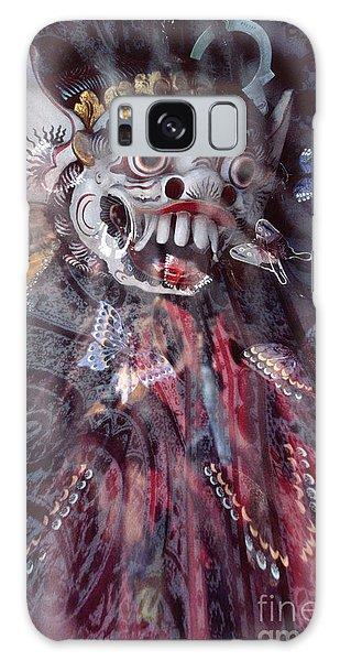 Bali Dance Theater Mask - Barong II Galaxy Case