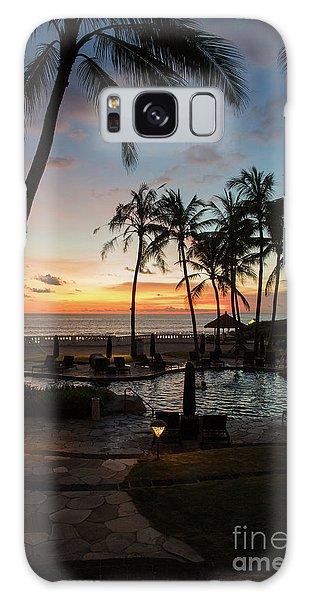 Bali Sunset Galaxy Case