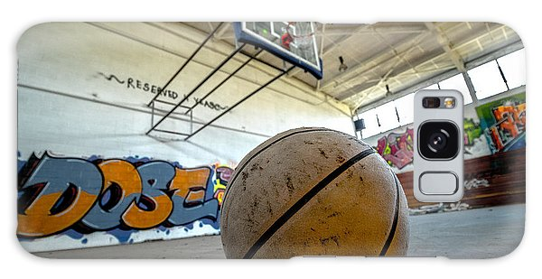 Ball Is Life Galaxy Case