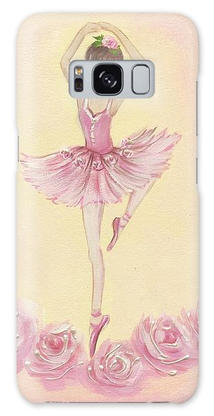 Ballerina Beauty Painting Galaxy Case