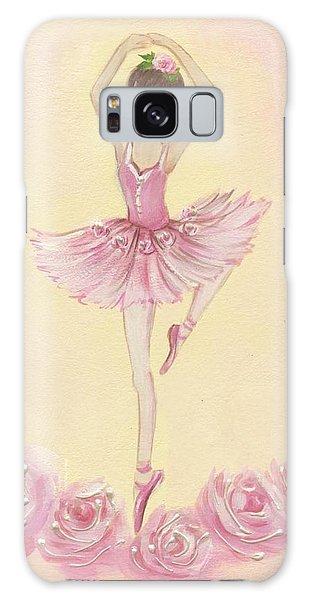 Ballerina Beauty Painting Galaxy Case
