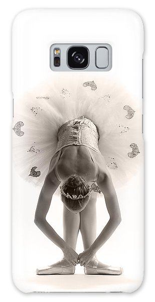 Ballerina Galaxy Case - Ballerina Bent by Steve Williams