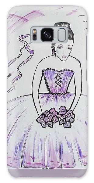 Ballerina Bride  Galaxy Case