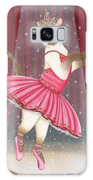 Ballerina Cat - Dancing Siamese Cat Galaxy Case