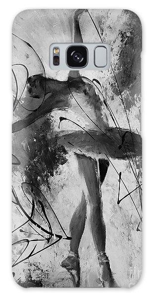 Ballerina Dance Black And White  Galaxy Case by Gull G