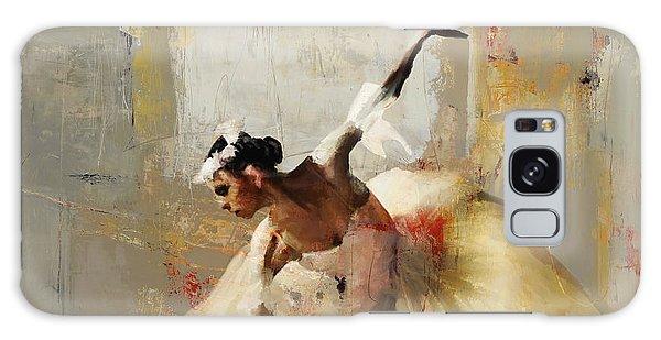Ballerina Dance On The Floor 01 Galaxy Case by Gull G