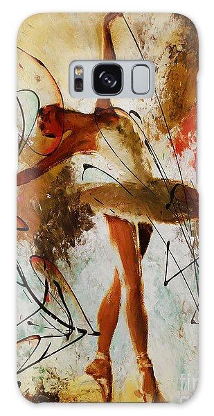 Ballerina Dance Original Painting 01 Galaxy Case by Gull G