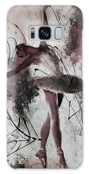 Ballerina Dance Painting 0032 Galaxy Case by Gull G