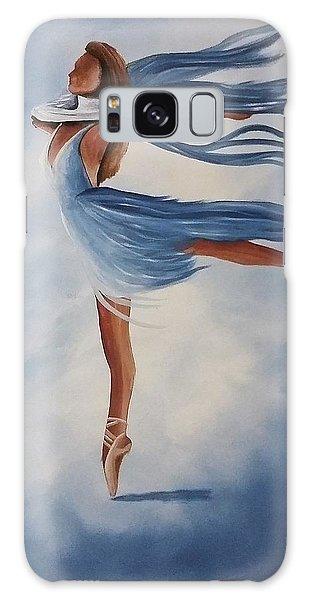 Ballerina Galaxy Case by Edwin Alverio