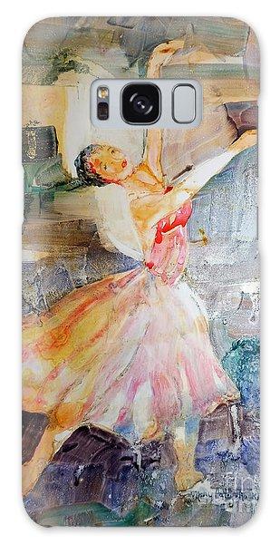 Ballerina In Motion Galaxy Case
