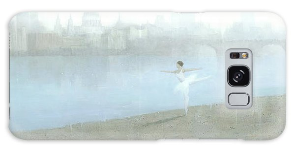 Ballerina On The Thames Galaxy Case