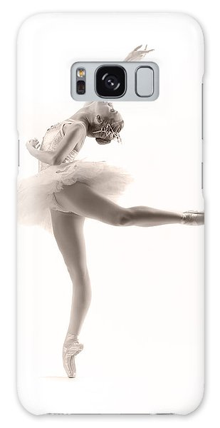 White Galaxy Case - Ballerina by Steve Williams