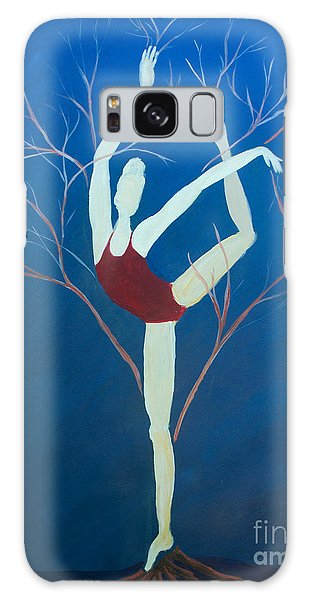 Ballerina Tree Galaxy Case