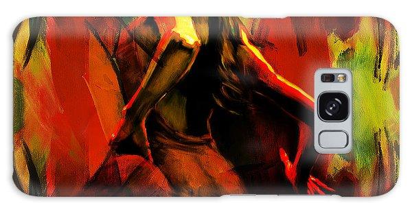 Spanish Flamenco Dancer 67p1 Galaxy Case