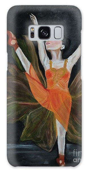 Ballet Dancer 1 Galaxy Case