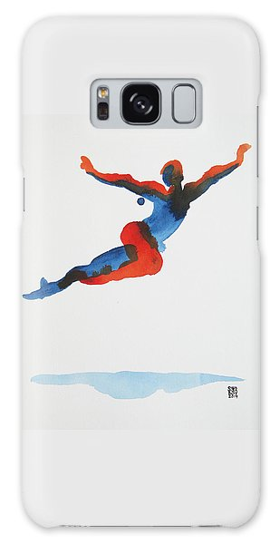 Ballet Dancer 1 Flying Galaxy Case