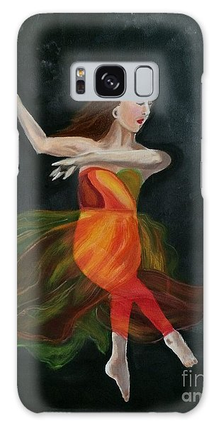 Ballet Dancer 2 Galaxy Case