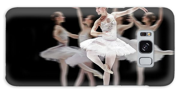 Galaxy Case featuring the photograph Ballet Dancer Dance Photography Long Exposure by Dimitar Hristov